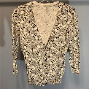 H&M Patterned Cardigan